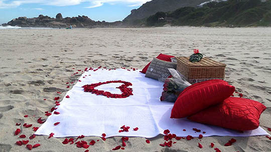 Surprise Romantic Picnic