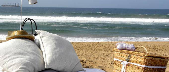 Picnic spot at Jlenashley Beach