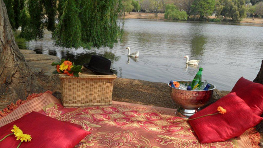 Outdoor Romantic Picnics